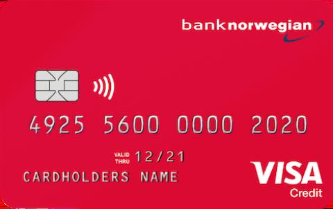 Norwegian Kreditkort - Resekort