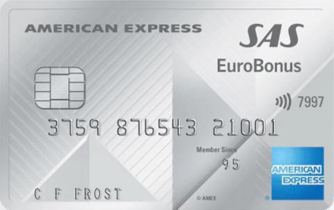 SAS Amex Premium Kreditkort