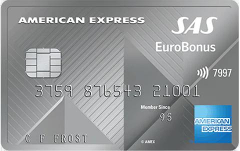 SAS Eurobonus AMEX Elite (American Express)