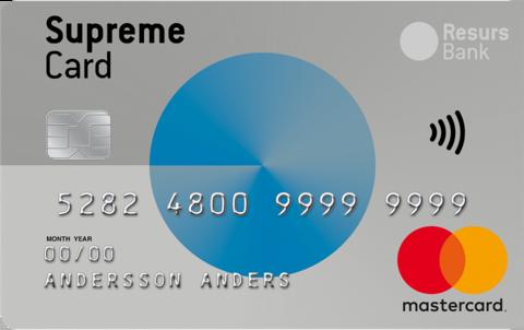 Supreme Card Classic Kreditkort