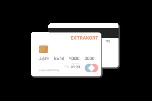kreditkort med extrakort